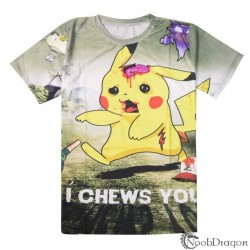 Camiseta Pikachu Zombie