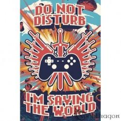 Maxi Poster Gamer Saving the World