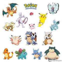 Pegatinas en vinilo de Pokemon