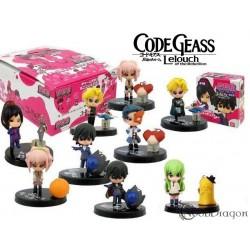 Set de 9 figuras de Code Geass