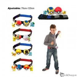 Cinturón de Entrenador + 2 Pokeballs + 2 Pokémon