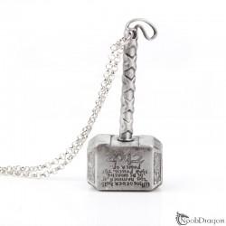 Llavero del martillo de Thor (Mjolnir)