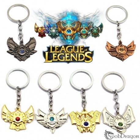 Llavero medalla ELO (League of Legends)
