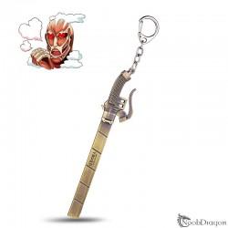 Llavero espada Ataque a los Titanes