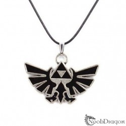 Colgante Trifuerza plateado (The Legend of Zelda)