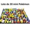 Lote de 20 mini pokémons
