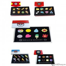 Set Medallas Pokémon