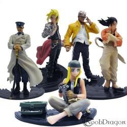 Set de 5 figuras Fullmetal Alchemist