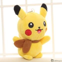Peluche de Pikachu con bufanda (Pokemon)