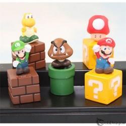 Set de 5 figuras de Super Mario Bros