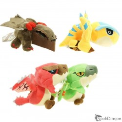 Peluches Monster Hunter (4 Modelos)