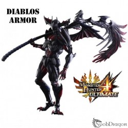 Figura Coleccionista Diablos Armor (Monster Hunter)