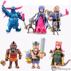 Set 6 Figuras Clash of Clans estilo Lego