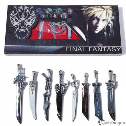 Set de 8 espadas de Final Fantasy