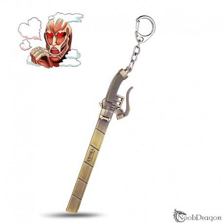 Colgante Shingeki no Kyojin (Ataque a los Titanes)