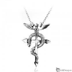Colgante de la cruz de Flamel (Fullmetal Alchemist)