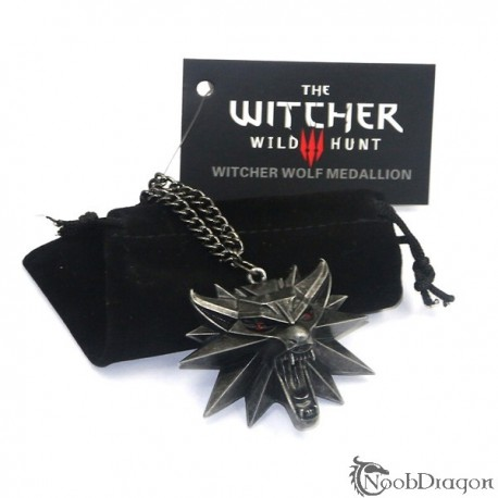 Colgante, medallón The Witcher 3, Wild Hunt